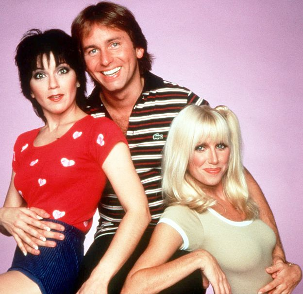 Clearly, Suzanne Somers was cast because of her impressive, gravity-defying talents.