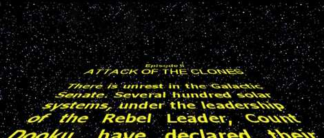 Asciimation is back on track, adding new scenes. As Theforce.net put it, 'It's CGI as you've never seen it before!