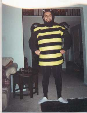 'Everyone should wear a bee costume at some point. It's quite liberating.' -UberPaki