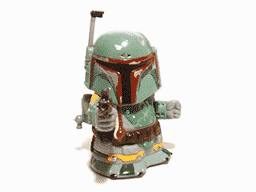 My backpack's got jets. I'm Boba the Fett. I bounty hunt for Jabba Hutt to finance my 'Vette.