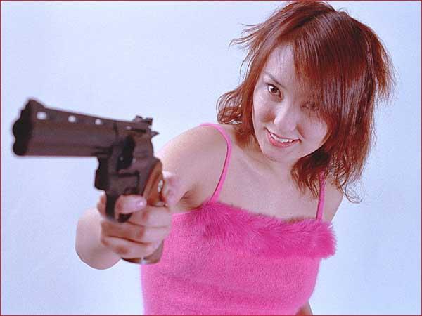 She kind of looks like a Japanese Emma Peel, don't you think?