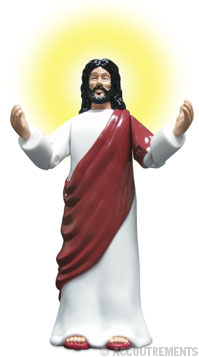 It's jesus, jesus, jesus! You've read his books, you've seen his movies, now you can own the action figure!