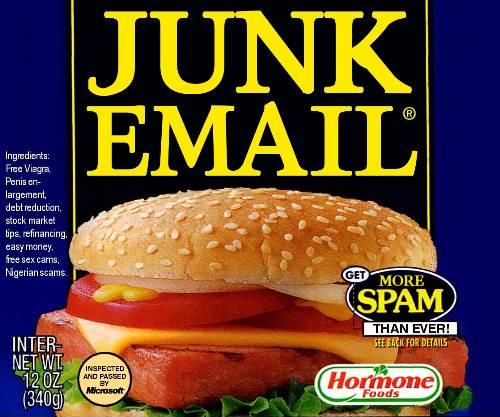There's nothing lovely or wonderful about spam.