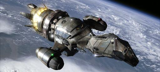 She's a transport ship, Firefly class