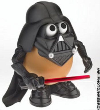 Darth Tater. Potato of the evil empire.