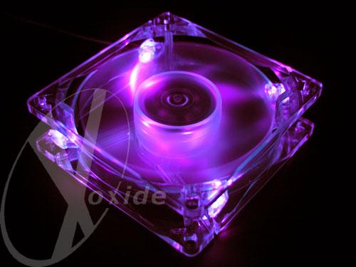 UV lit fan