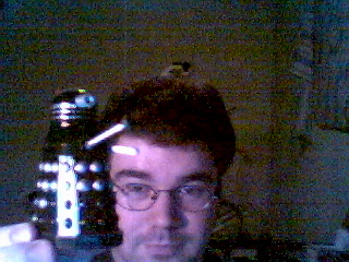 Exterminate! Exterminate! Let me just finish getting my new paint job.